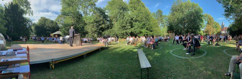 Abiturfeier 2020 im Park