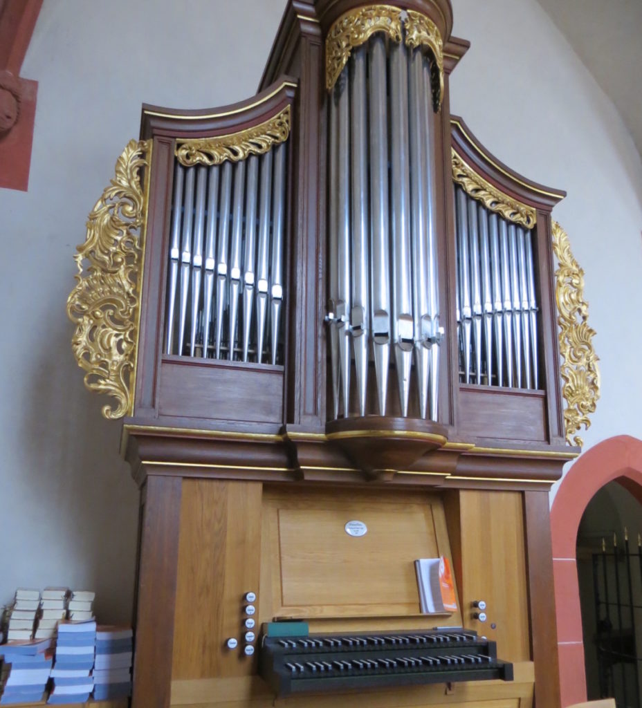 Orgel in der Kapelle